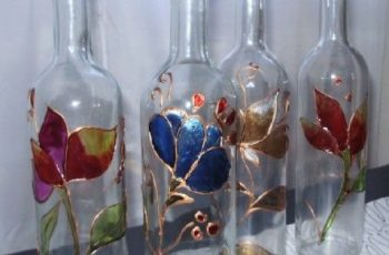 cómo decorar botellas