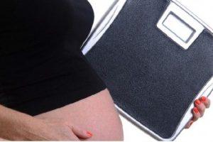 subir de peso embarazo
